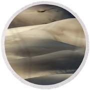 Great Sand Dunes National Park V Round Beach Towel