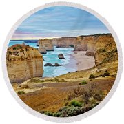 Great Southern Land Round Beach Towel by Az Jackson