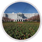 Greenbrier Resort Round Beach Towel