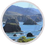 Greenwood Vista Round Beach Towel