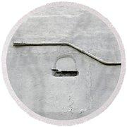 Grey Matter Round Beach Towel