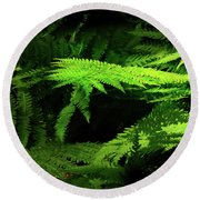Ground Cover Adornments Round Beach Towel