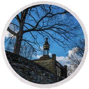 Guarded Summit Memorial Round Beach Towel