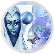 Guardian Round Beach Towel