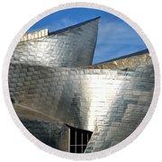 Guggenheim Museum Bilbao - 5 Round Beach Towel by RicardMN Photography