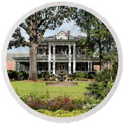 Guignard Mansion Round Beach Towel