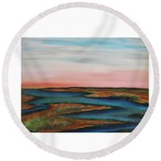 Guilded Edge Round Beach Towel