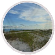 Gulf Islands National Seashore Round Beach Towel