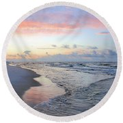 Gulf Shore Round Beach Towel