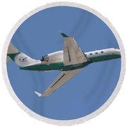 Gulfstream Aerospace  Round Beach Towel