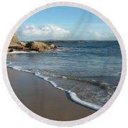 Gurteen Beach Round Beach Towel
