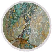 Gustav's Tree Round Beach Towel