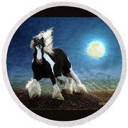 Gypsy Moon Round Beach Towel