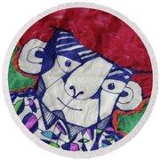 Gypsy Peddler  Round Beach Towel by Don Koester