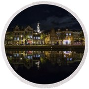 Haarlem Night Round Beach Towel