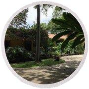 Hacienda Luis Round Beach Towel