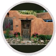 Hacienda Santa Fe Round Beach Towel