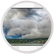 Haines Round Beach Towel