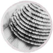 Half Shell Round Beach Towel