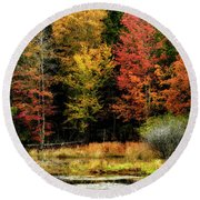 Handley Wildlife Managment Area Round Beach Towel