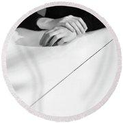 Hands #3110 Round Beach Towel