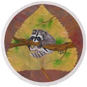 Hang On Round Beach Towel by Ralph Root