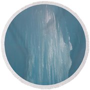 Hanging Icicles Round Beach Towel