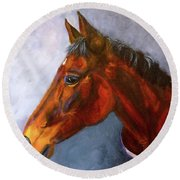 Hanoverian Bay Round Beach Towel