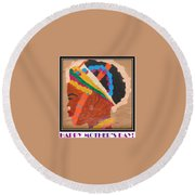 Happy Mother's Day 4 Round Beach Towel