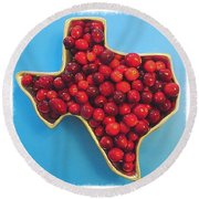 Happy #thanksgiving From #texas. May Round Beach Towel