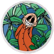Happyanja Round Beach Towel