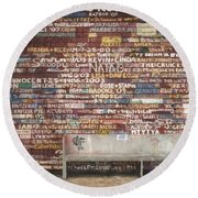 Hardy Gallery Round Beach Towel