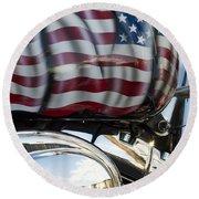 Harley Davidson 7 Round Beach Towel