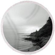 Harpswell, Maine No. 5 Round Beach Towel