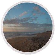 Hatteras Sunrise Round Beach Towel
