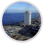 Havana-1 Round Beach Towel