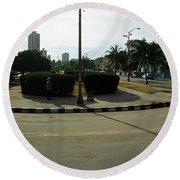 Havana-15 Round Beach Towel