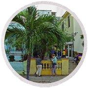 Havana-19 Round Beach Towel