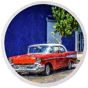 Havana Classic Round Beach Towel by Perry Webster