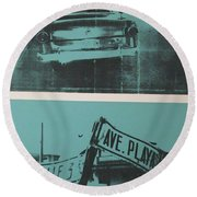 Havana Five Round Beach Towel
