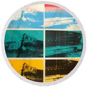 Havana Four Round Beach Towel