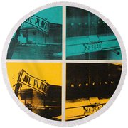 Havana Two Round Beach Towel