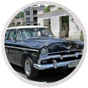 Havana Vintage 5 Round Beach Towel