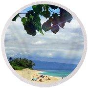 Hawii 3 Round Beach Towel
