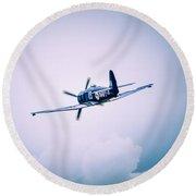 Hawker Sea Fury Fb11 Round Beach Towel