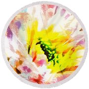 He Did Everything Beautiful In His Time Ecclesiastes 3 11 Round Beach Towel