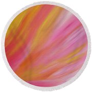 Healing Round Beach Towel