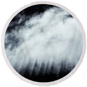 Round Beach Towel featuring the photograph Heavenly by Mike Dawson
