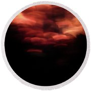 Hellfire 003 Round Beach Towel by Lon Casler Bixby