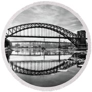 Hellgate Full Reflection Round Beach Towel